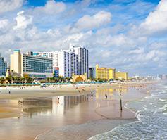 Imagen de playa en una posada costera de Daytona