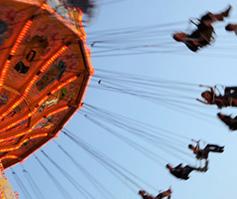 Imagen de una silla voladora