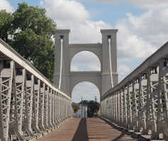 Picture of Waco Suspension Bridge in TX