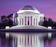 Imagen del Thomas Jefferson Memorial en Washington, D.C.