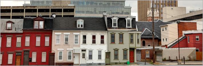Allentown, PA/Fachadas de edificios