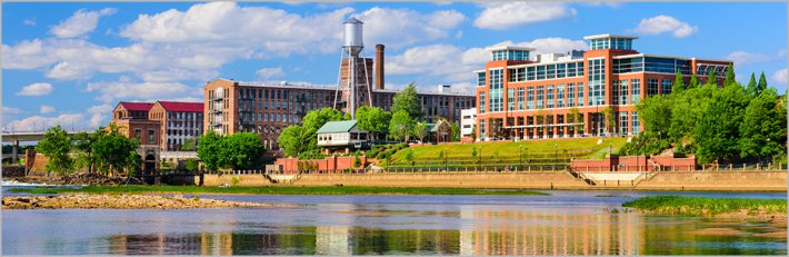 Columbus; Factories on Riverfront
