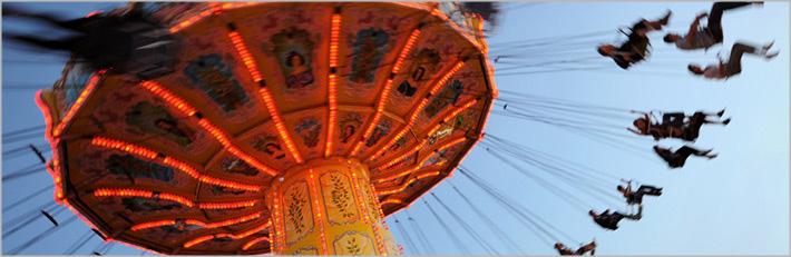 Silla voladora de carnaval