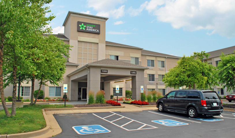 Extended Stay America St Louis Airport Central All Rooms Are Newly Renovated And Non Smoking 11252 Lone Eagle Dr Bridgeton Mo 63044 0 Off 94 99